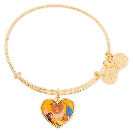 Disney Alex and Ani Bracelet - Belle and Beast - Valentine's Day