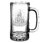 Disney Arribas Tankard Glass - Cinderella Castle - Walt Disney World