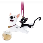 Disney Christmas Figural Ornament - Bolt and Mittens