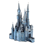 Disney 3D Model Kit - Cinderella Castle - Metal