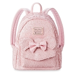 Disney Loungefly Backpack - Minnie Mouse Sequined - Light Pink