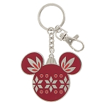 Disney Keychain - Christmas Mickey Mouse Icon - Metal
