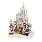 Disney Holiday Figurine - Cinderella Castle - Mickey and Friends