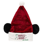 Disney Christmas Hat - Mickey Mouse Santa Ear Hat - Light Up