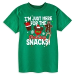 Disney T-Shirt for Child - Disney Parks Holiday Snacks - Green