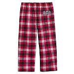 Disney Child Holiday Lounge Pants - Holiday Santa Mickey