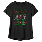 Disney Shirt for Women - Holiday Mickey Joy - Sequined