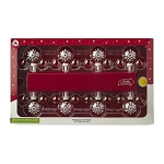 Disney Christmas Lights Set - Mickey Mouse Icons - Snowflakes