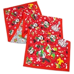 Disney Table Runner - Holiday Santa Mickey Mouse and Friends