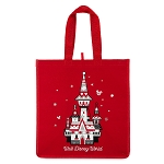 Disney Tote Bag - 2018 Reusable Holiday Tote - Castle