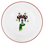 Disney Cereal Bowl - Santa Minnie Mouse Holiday - Reindeer