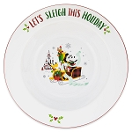 Disney Serving Bowl - Santa Minnie Mouse and Friends Holiday