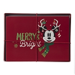 Disney Holiday Greeting Card Set - Nordic Winter - Mickey and Friends