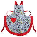 Disney Holiday Apron - Nordic Winter - Santa Mickey and Friends