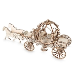 Disney Wooden Puzzle - Cinderella Carriage