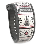 Disney Magic Band 2 - Nordic Winter - Holiday Fantasyland Castle
