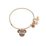 Disney Alex & Ani Bracelet - Filigreed Mickey Icon Bangle - Gold