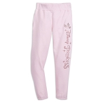 Disney Jogger Pants for Girls - Disney Princess - Fleece - Pink