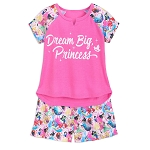 Disney Pajama Set for Girls - Princess - Dream Big Princess
