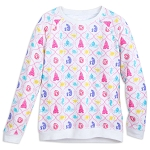 Disney Long Sleeve Top for Girls - Disney Princess Symbols