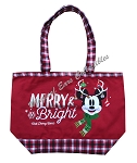Disney Holiday Tote Bag - Minnie Mouse - Merry and Bright