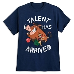 Disney T-Shirt for Adults - The Lion King - Talent Has Arrived