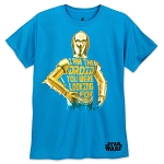 Disney T-Shirt for Adults - C-3PO Droid - Star Wars