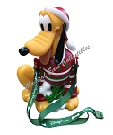 Disney Popcorn Bucket - Santa Pluto - Red Ugly Sweater