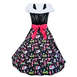 Disney Dress for Women - Nordic Winter - Holiday Dress and Stole