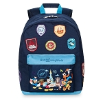 Disney Backpack Bag - Mickey and Friends - Walt Disney World Patches