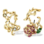 Disney Arribas Earrings - Beauty and the Beast - Gold