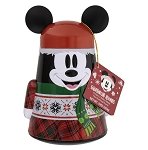 Disney Shortbread Rounds - Holiday Santa Mickey Tin Cookies