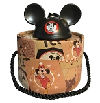 Disney Ear Hat Ornament - Mickey Mouse Mouseketeer - Black