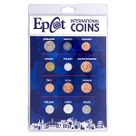 Disney Coin Set - Epcot International Coins - Walt Disney World