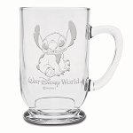 Disney Arribas Glass Mug - Stitch - Personalizable - 16oz