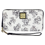 Disney Dooney and Bourke Bag - Mickey Mouse Through the Years - Wallet