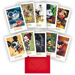 Disney Note Card Set - Mickey's Celebration of the Mouse