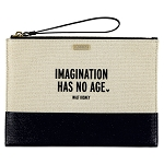 Disney Kate Spade Clutch Bag - Imagination Has No Age - Canvas