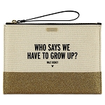 Disney Kate Spade Clutch Bag - Who Says We Have to Grow Up? - Canvas