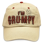 Disney Hat - Baseball Cap - Grumpy - I'm Grumpy Because You're Dopey