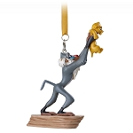Disney Figure Christmas Ornament - The Lion King - Rafiki and Simba
