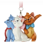 Disney Figure Christmas Ornament - The Aristocats - 3 Cats