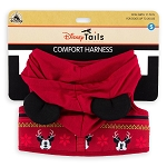 Disney Pet Harness - Holiday Mickey Mouse