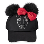 Disney Hat - Baseball Cap - Minnie Mouse Jeweled - Youth