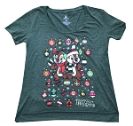 Disney Shirt for Women - Epcot 2018 Festival of the Holidays - Green