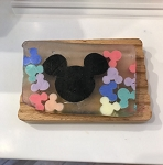 Disney Basin Fresh Cut Soap - Large Mickey with Colorful Mickeys