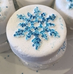 Disney Basin Bath Bomb - Snowflakes - Let it Snow