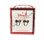 Disney Post Earrings - Minnie Mouse Ear Headband - Rose Gold