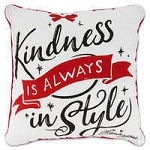 Disney Throw Pillow - Minnie Mouse - Kindness is Always in Style