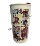 Disney Travel Tumbler - Starbucks - Hollywood Studios Park Icons